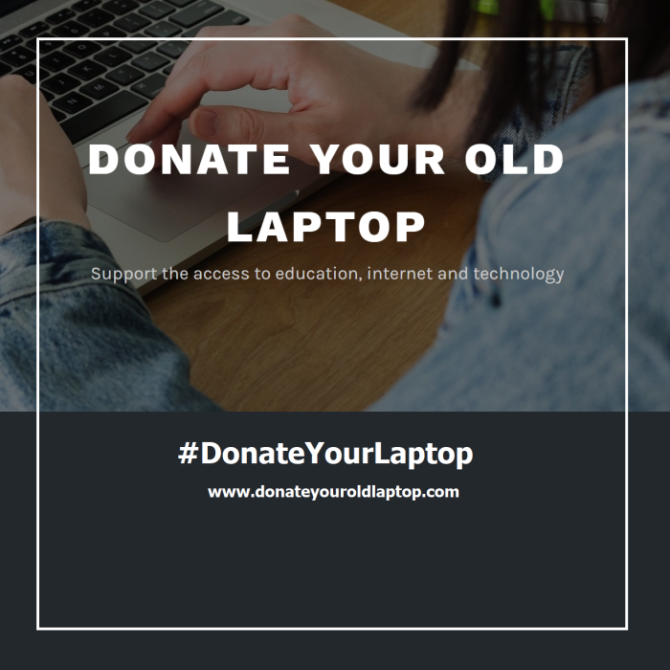 Donate your old laptop at Social Hackers Academy in Greece